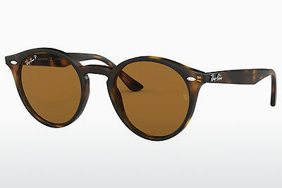 solbrille Ray-Ban RB2180 710/83 - Brun, Havanna