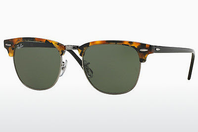 solbrille Ray-Ban CLUBMASTER (RB3016 1157) - Brun, Havanna, Sort