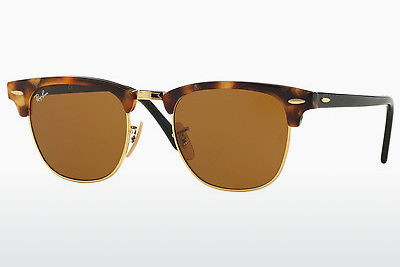solbrille Ray-Ban CLUBMASTER (RB3016 1160) - Brun, Havanna
