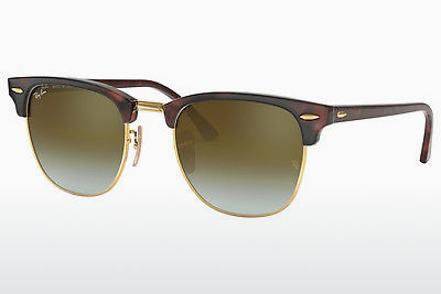 solbrille Ray-Ban CLUBMASTER (RB3016 990/9J) - Brun, Havanna