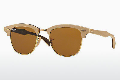 solbrille Ray-Ban CLUBMASTER (M) (RB3016M 1179) - Brun