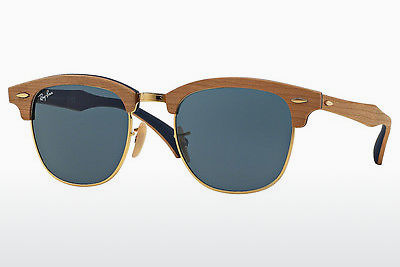solbrille Ray-Ban CLUBMASTER (M) (RB3016M 1180R5) - Blå