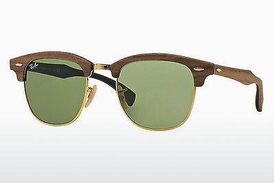 solbrille Ray-Ban CLUBMASTER (M) (RB3016M 11824E) - Brun
