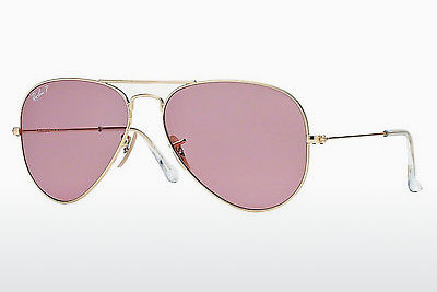 solbrille Ray-Ban AVIATOR LARGE METAL (RB3025 001/15) - Gull