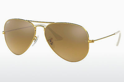 solbrille Ray-Ban AVIATOR LARGE METAL (RB3025 001/3K) - Gull