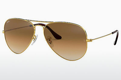 solbrille Ray-Ban AVIATOR LARGE METAL (RB3025 001/51) - Gull