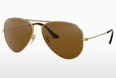 solbrille Ray-Ban AVIATOR LARGE METAL (RB3025 001/57) - Gull