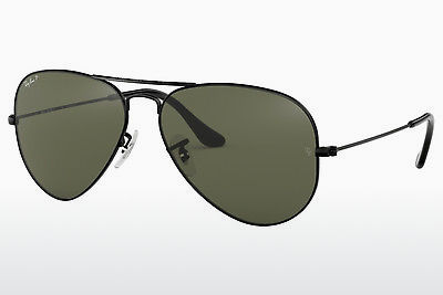 solbrille Ray-Ban AVIATOR LARGE METAL (RB3025 002/58) - Sort