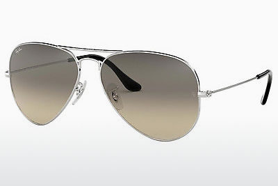 solbrille Ray-Ban AVIATOR LARGE METAL (RB3025 003/32) - Sølv