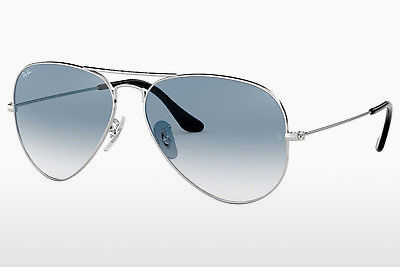 solbrille Ray-Ban AVIATOR LARGE METAL (RB3025 003/3F) - Sølv