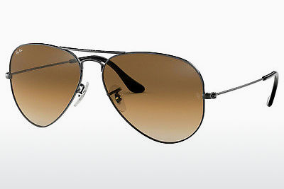 solbrille Ray-Ban AVIATOR LARGE METAL (RB3025 004/51) - Grå, Rødt metall