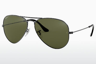 solbrille Ray-Ban AVIATOR LARGE METAL (RB3025 004/58) - Grå, Rødt metall