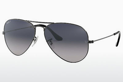 solbrille Ray-Ban AVIATOR LARGE METAL (RB3025 004/78) - Grå, Rødt metall