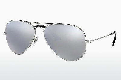solbrille Ray-Ban AVIATOR LARGE METAL (RB3025 019/W3) - Sølv