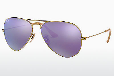 solbrille Ray-Ban AVIATOR LARGE METAL (RB3025 167/1M) - Brun