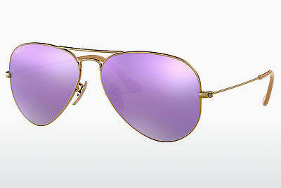 solbrille Ray-Ban AVIATOR LARGE METAL (RB3025 167/1R) - Brun