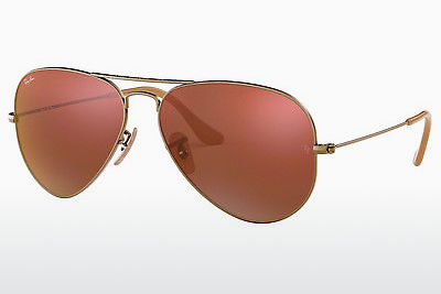 solbrille Ray-Ban AVIATOR LARGE METAL (RB3025 167/2K) - Brun