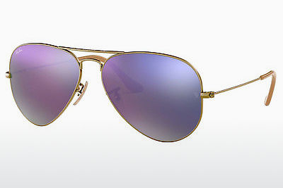 solbrille Ray-Ban AVIATOR LARGE METAL (RB3025 167/4K) - Brun