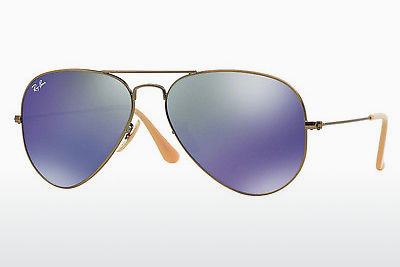 solbrille Ray-Ban AVIATOR LARGE METAL (RB3025 167/68) - Brun, Bronse
