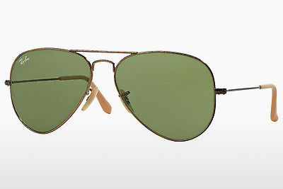 solbrille Ray-Ban AVIATOR LARGE METAL (RB3025 177/4E) - Gull