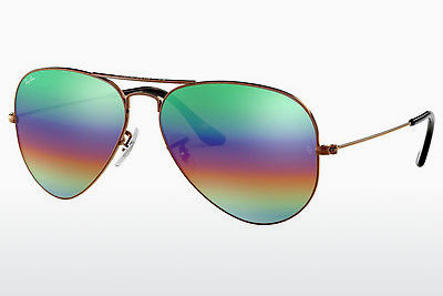 solbrille Ray-Ban AVIATOR LARGE METAL (RB3025 9018C3) - Brun