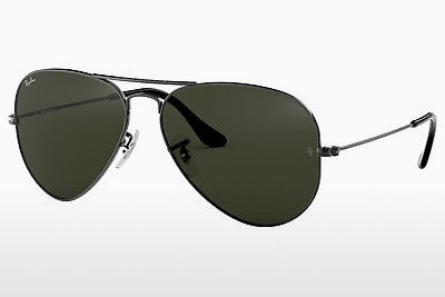 solbrille Ray-Ban AVIATOR LARGE METAL (RB3025 W0879) - Grå, Rødt metall