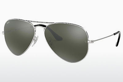 solbrille Ray-Ban AVIATOR LARGE METAL (RB3025 W3277) - Sølv