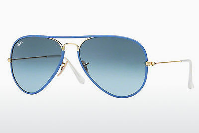 solbrille Ray-Ban AVIATOR FULL COLOR (RB3025JM 001/4M) - Gull