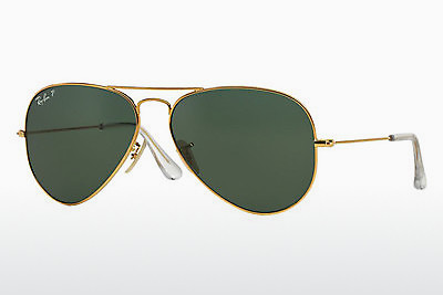 solbrille Ray-Ban AVIATOR LARGE GOLD (K) (RB3025K 160/N5) - Gull