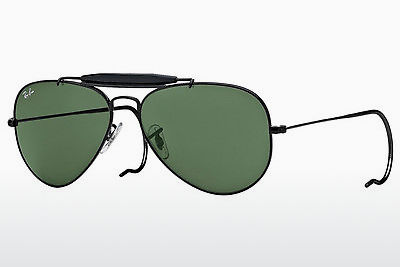 solbrille Ray-Ban OUTDOORSMAN (RB3030 L9500) - Sort
