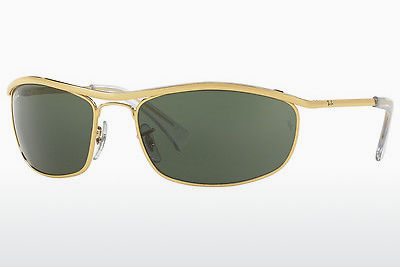 solbrille Ray-Ban OLYMPIAN (RB3119 001) - Gull