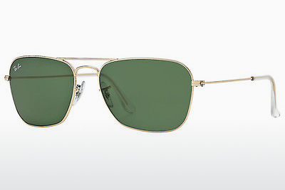 solbrille Ray-Ban CARAVAN (RB3136 001) - Gull
