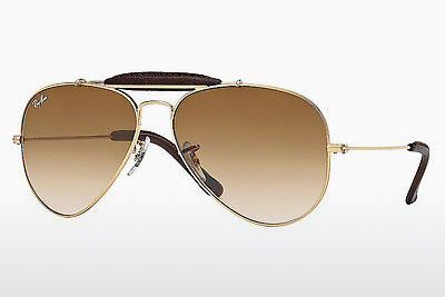 solbrille Ray-Ban AVIATOR CRAFT (RB3422Q 001/51) - Gull