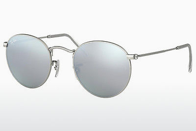 solbrille Ray-Ban ROUND METAL (RB3447 019/30) - Sølv