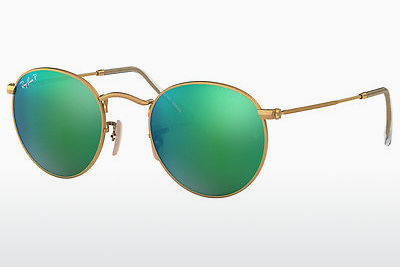 solbrille Ray-Ban ROUND METAL (RB3447 112/P9) - Gull