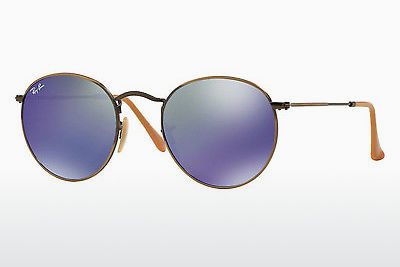 solbrille Ray-Ban ROUND METAL (RB3447 167/68) - Brun, Bronse