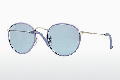 solbrille Ray-Ban ROUND CRAFT (RB3475Q 019/62) - Sølv, Purpur