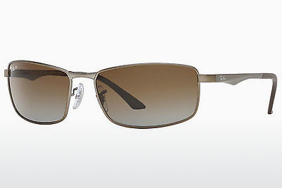 solbrille Ray-Ban RB3498 029/T5 - Grå, Rødt metall