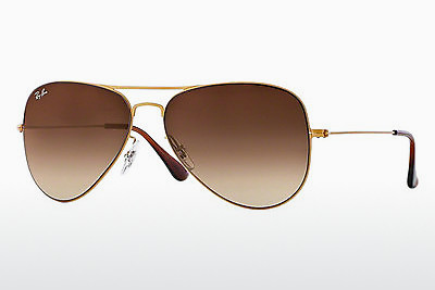 solbrille Ray-Ban AVIATOR FLAT METAL (RB3513 149/13) - Gull, Sand