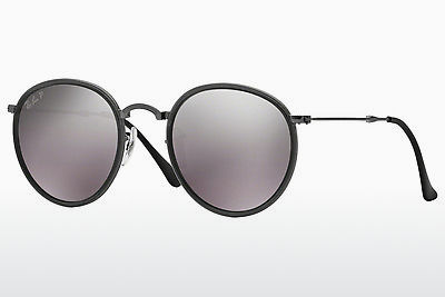 solbrille Ray-Ban ROUND (RB3517 029/N8) - Grå, Rødt metall