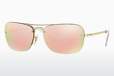 solbrille Ray-Ban RB3541 001/2Y - Gull
