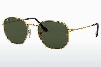 solbrille Ray-Ban RB3548N 001 - Gull