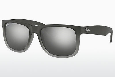 solbrille Ray-Ban JUSTIN (RB4165 852/88) - Grå, Transparent