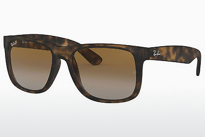 solbrille Ray-Ban JUSTIN (RB4165 865/T5) - Brun, Havanna