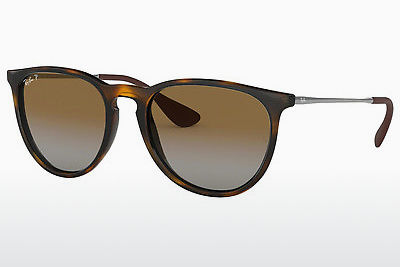 solbrille Ray-Ban ERIKA (RB4171 710/T5) - Brun, Havanna