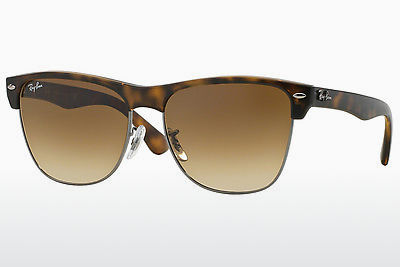 solbrille Ray-Ban CLUBMASTER OVERSIZED (RB4175 878/51) - Brun, Havanna, Grå