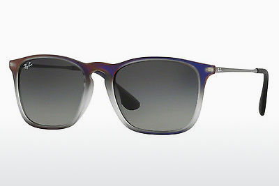 solbrille Ray-Ban CHRIS (RB4187 622311) - Purpur, Violet