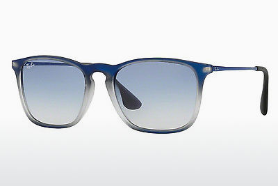 solbrille Ray-Ban CHRIS (RB4187 622519) - Blå, Sort