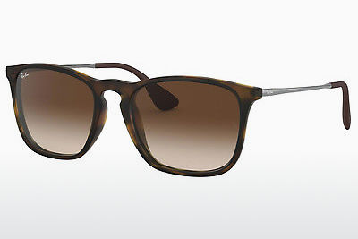 solbrille Ray-Ban CHRIS (RB4187 856/13) - Brun, Havanna