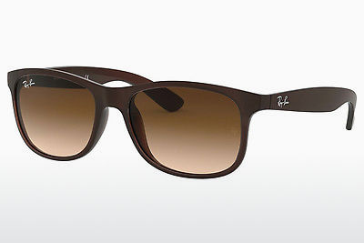 solbrille Ray-Ban ANDY (RB4202 607313) - Brun